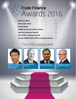 Trade Finance Awards 2016